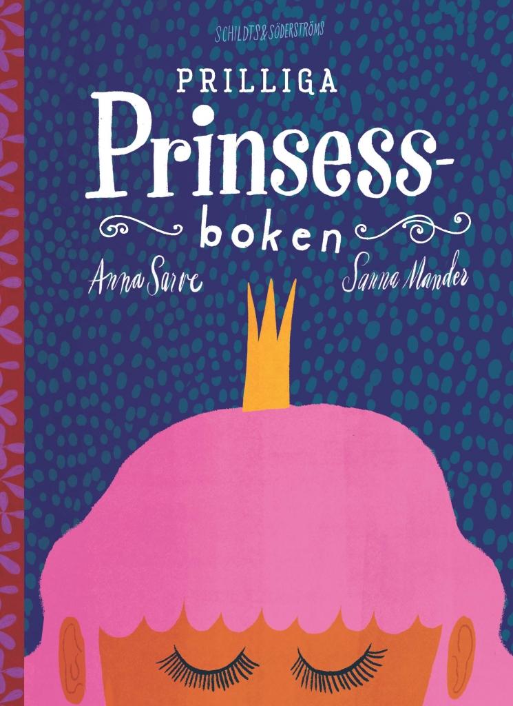 Prilliga Prinsessboken - omslagsbild